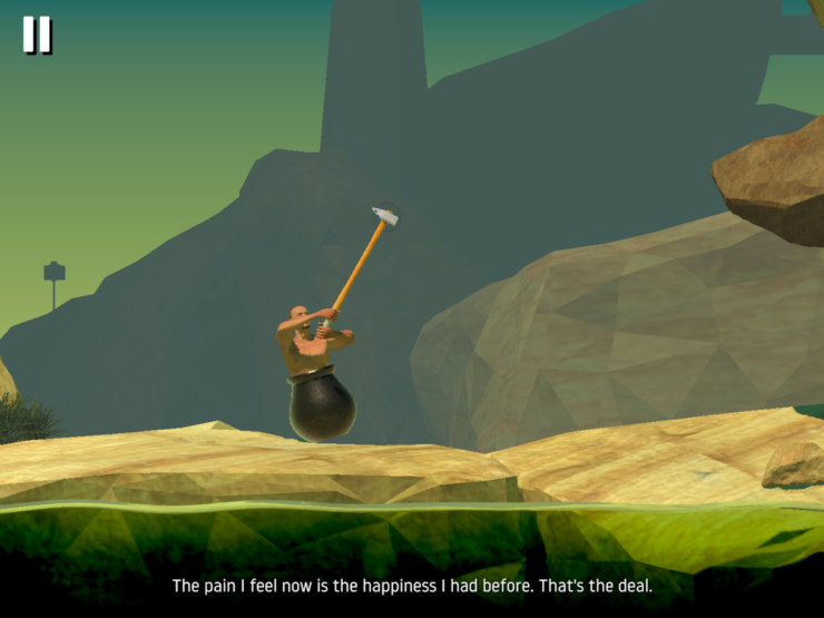 © Getting Over It with Bennet Foddy