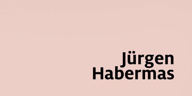 Jürgen Habermas: Durch die Bibliothek ...