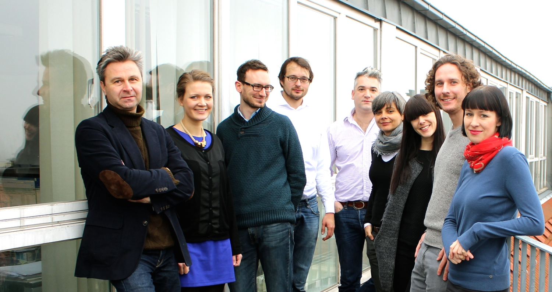 v. l. n. r.: Frank Kroll, Anne Stukenborg, Lars Claßen, Daniel Acksteiner, Patrick Hutsch, Doris Plöschberger, Martina Wunderer, Markus Streichardt, Alexandra Richter