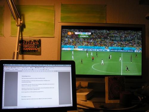 Vielleicht später: Einsatz Fußballgucken Copyright Detlef Kuhlbrodt