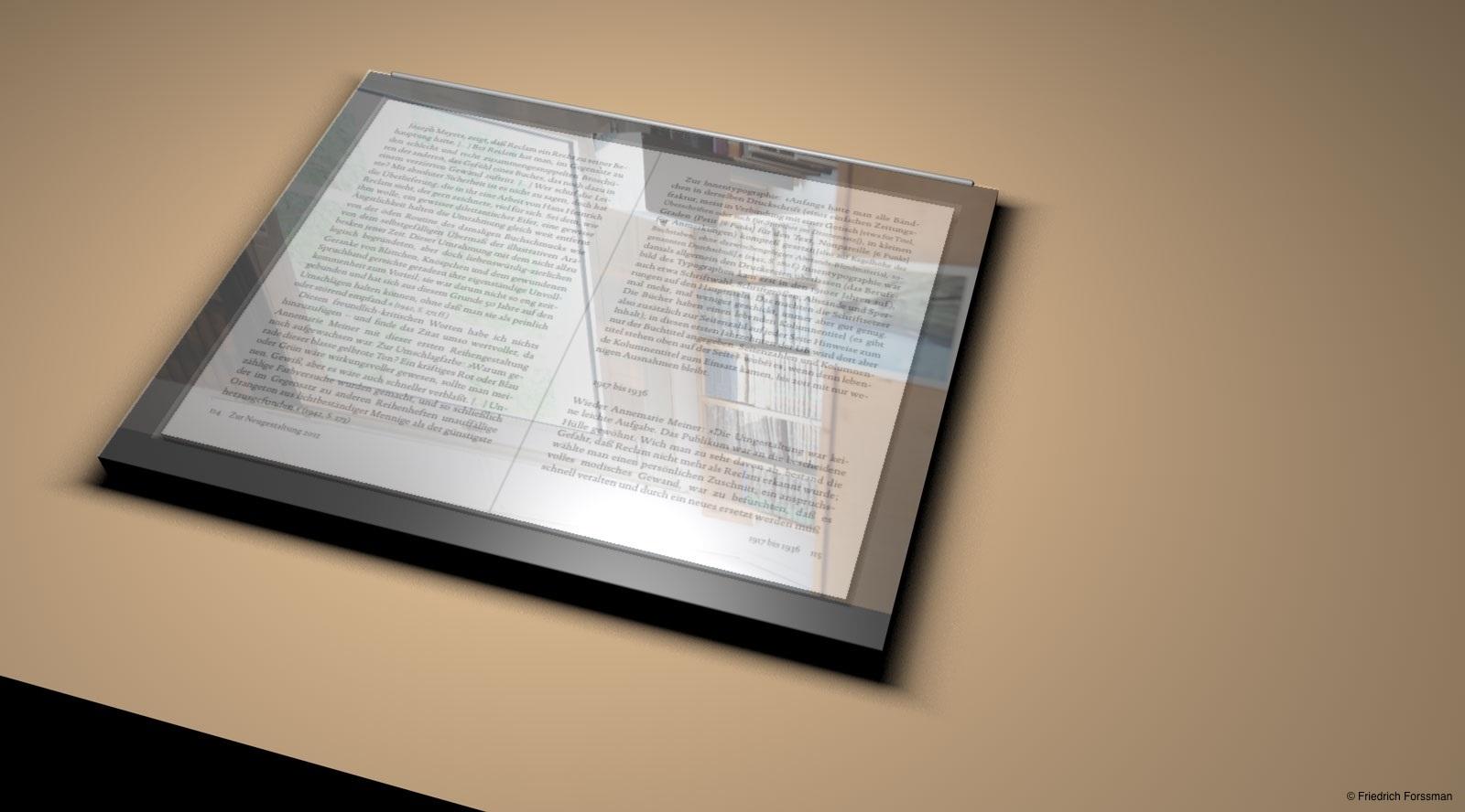 Auch an liebgewonnene Features ist gedacht: Die spiegelnde Oberfläche, an der Fingerabdrücke extra gut haften ...