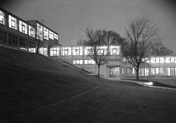 Hochschule für Gestaltung Ulm, 1956.