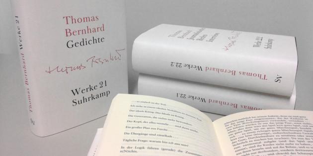 Raimund Fellinger: Zum Abschluss der Thomas-Bernhard-Werkausgabe. Teil 2