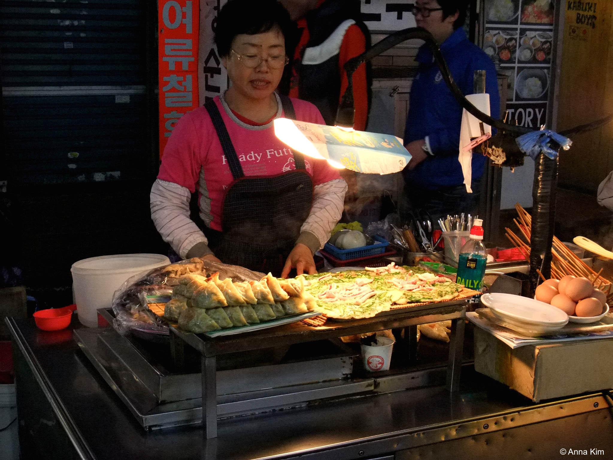 Koreanische Pfannkuchen