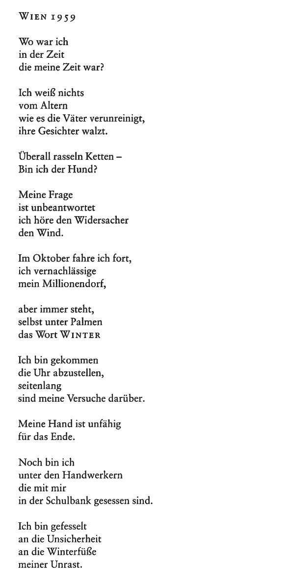 © Thomas Bernhard / Suhrkamp Verlag
