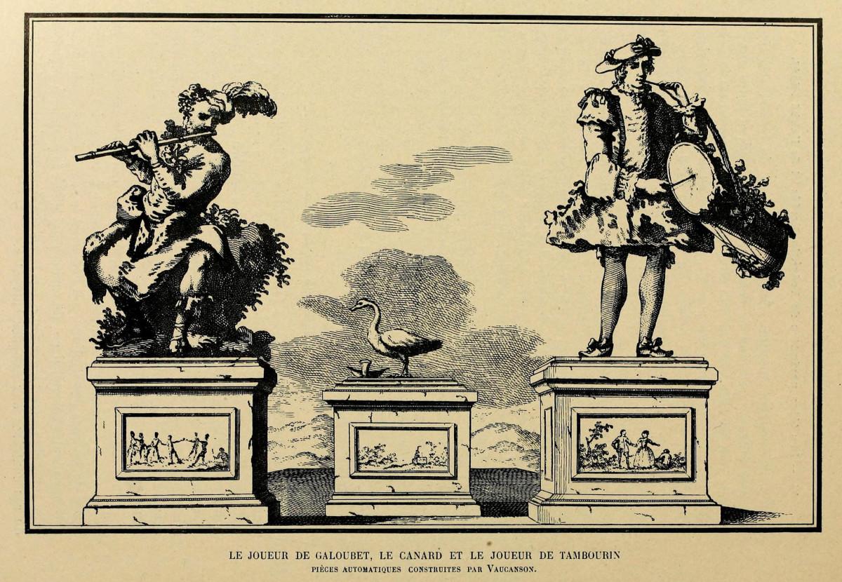 Jacques de Vaucanson - Trois Automates