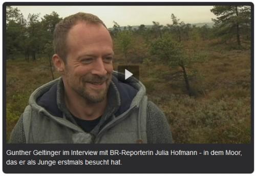 Gunther Geltinger - Interview mit dem BR