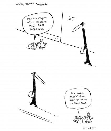 Nicolas Mahler: Walk on by
